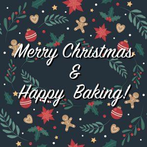 Merry Christmas & Happy Baking