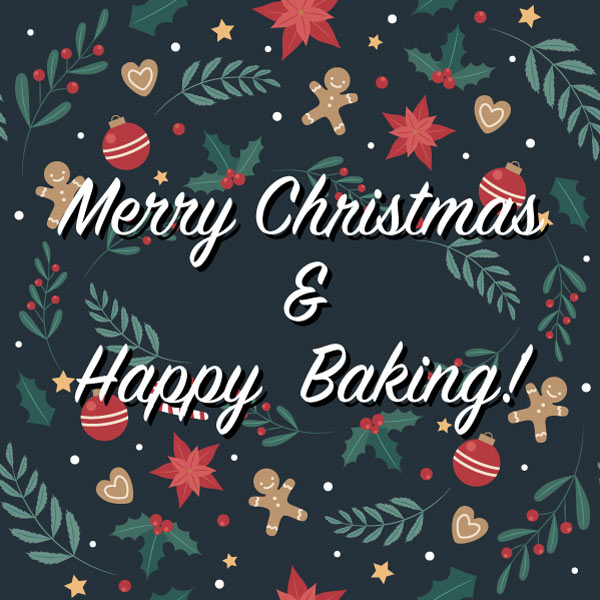 Merry Christmas & Happy Baking